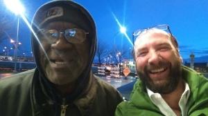 With Bob Watford at Kansas City Airport