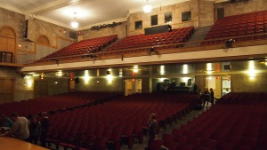 The auditorium at Omaha Central High