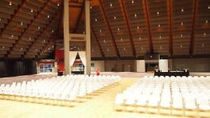 John Knox Pavilion: empty