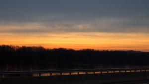 Sunrise over The Susquehanna