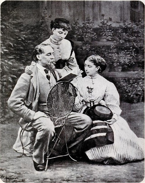 Dickens and daughters