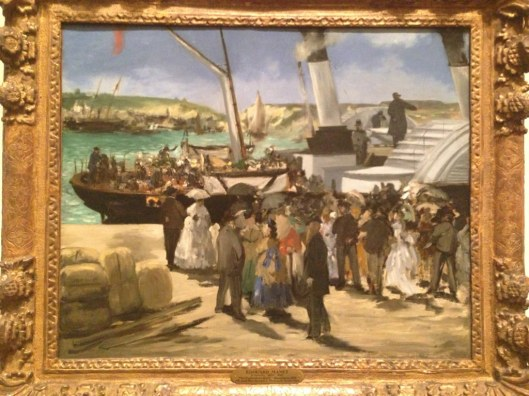 Edouard Manet (1872) Departure of the Folkestone Boat
