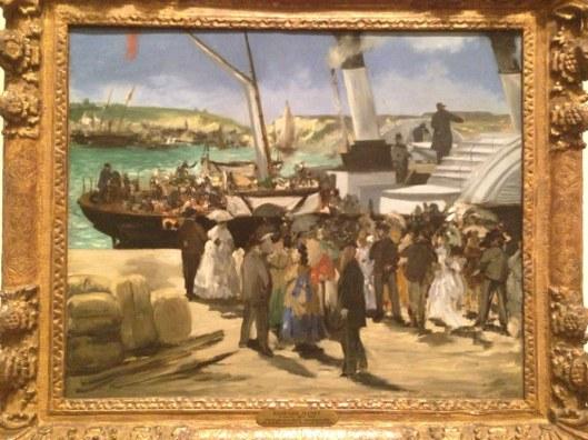 Edouard Manet (1872) Departure of the Folkestone Boat